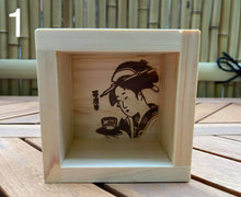 Load image into Gallery viewer, Wooden Sake Cups