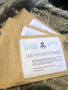 Sakekasu Bath Powder
