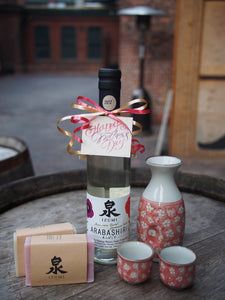 Mother's Day Sake Gift Set with Arabashiri