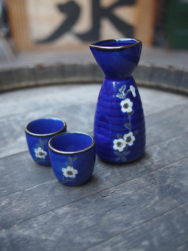 Sakeware set A (Blue)