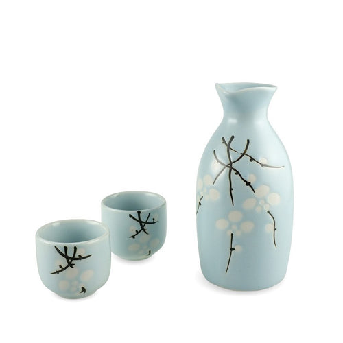 Sakeware Set - A (Skyblue)