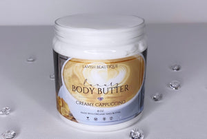"""CREAMY CAPPUCCINO"" Luxury Body Butter"