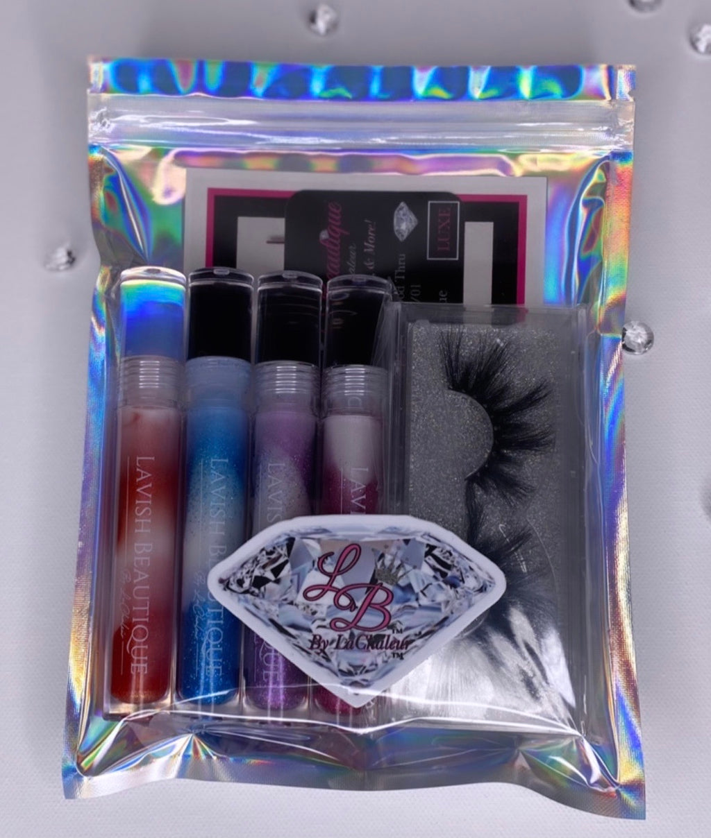 "The ""WINTER DREAMS"" Luxe Bundle Set (Includes FREE LASHES)"