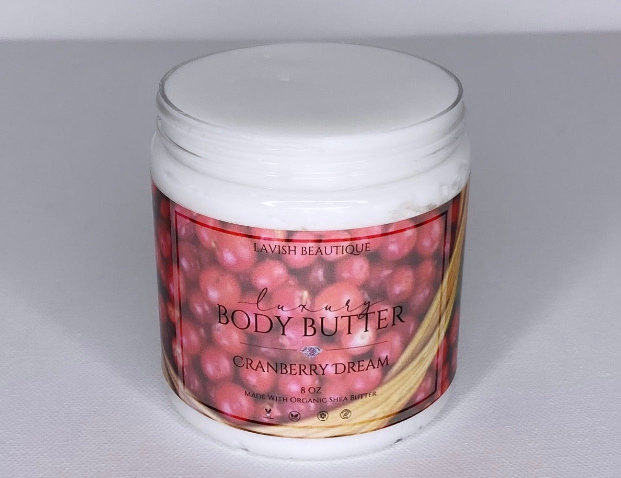 """CRANBERRY DREAM"" Luxury Body Butter"