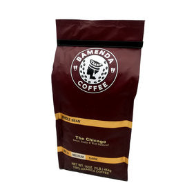 The Chicago Medium (1LB, MEDIUM ROAST, Beans ) SMOOTH COFFEE