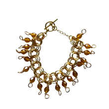 Load image into Gallery viewer, The Donna Bracelet in Transparent Honey