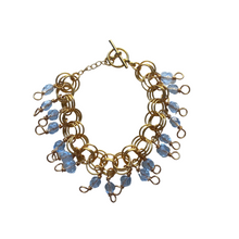 Load image into Gallery viewer, The Donna Bracelet in Transparent Ice Blue