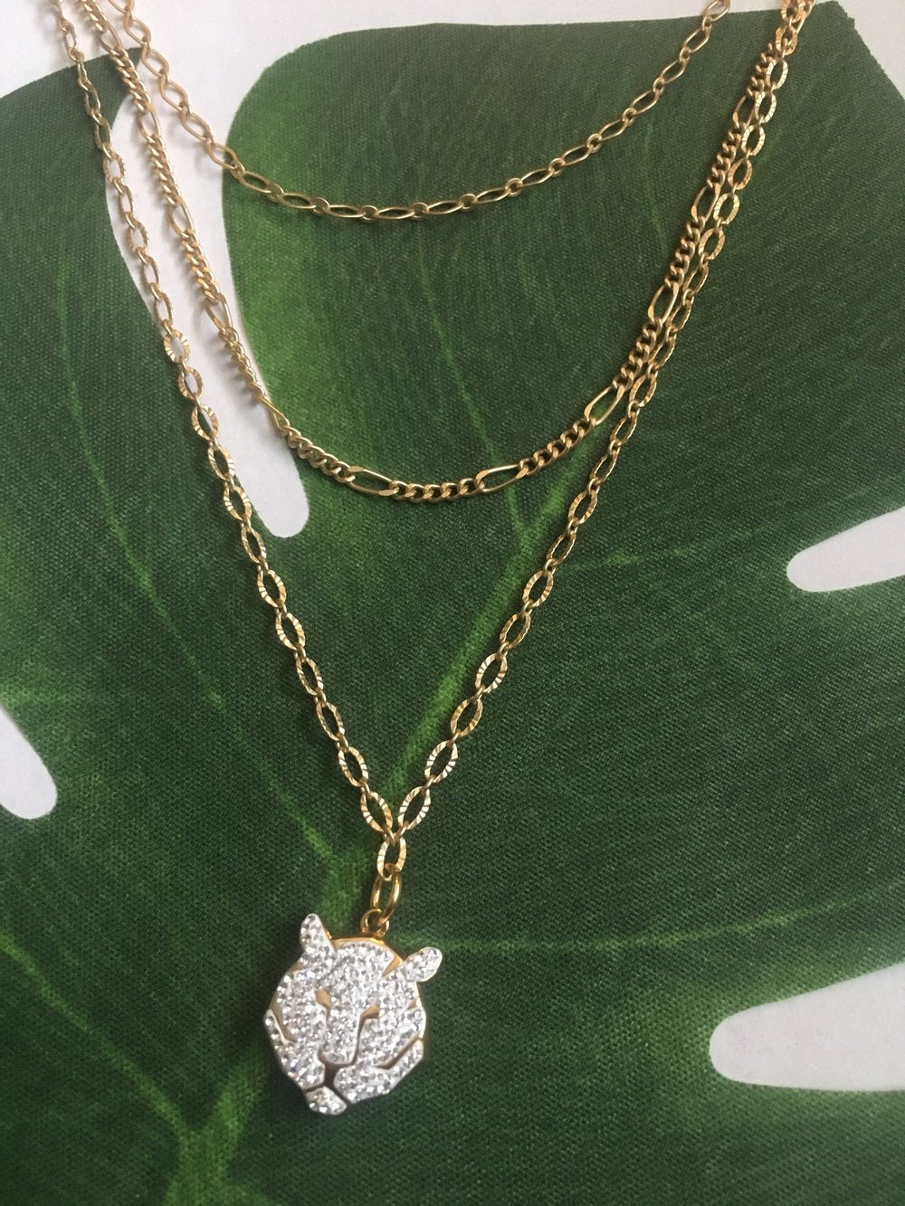 The Ashley Tiger Necklace