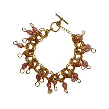 Load image into Gallery viewer, The Donna Bracelet in Crystal Rose