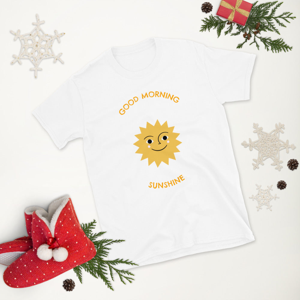 "Short-Sleeve Women's ""Good Morning Sunshine"" T-Shirt"