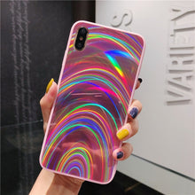 Load image into Gallery viewer, LUXURY SLIK RAINBOW CASE - iPHONE