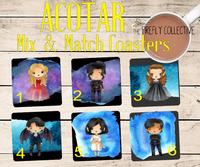 ACTOR Character Mix & Match Coasters **