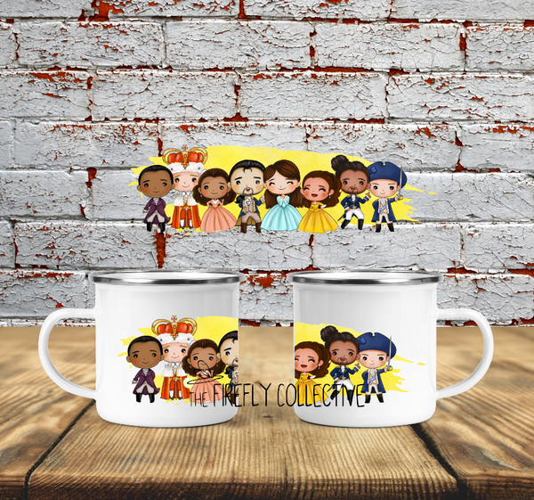 Hamilton Character Wraparound  Camp Mug Sublimated