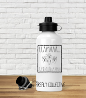 Llama Just Killed a Man Queen Inspired Water Bottle