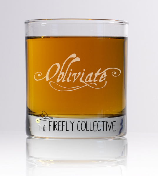 Obliviate Harry Potter Spell Inspired Laser Engraved Old Fashion/ Whiskey/ Rocks Glass