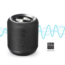 Load image into Gallery viewer, PORTRONICS SoundDrum Portable bluetooth speaker with FM