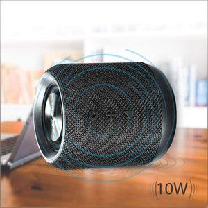 PORTRONICS SoundDrum Portable bluetooth speaker with FM
