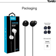 Load image into Gallery viewer, TORETO DELIGHT STEREO EARPHONE WITH MIC TOR-269