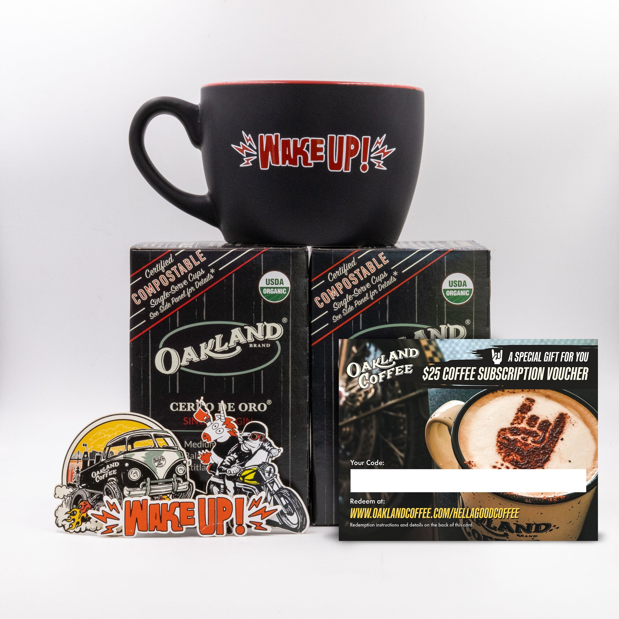Wake Up! Mug Bundle