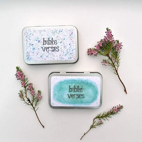 Bible Verse Boxes Christian Gift Idea