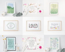 Load image into Gallery viewer, mix and match bible verse art prints for the home