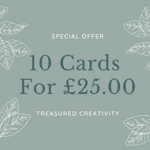 10 mix and match greeting card special offer