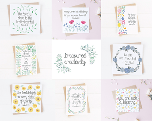 an assortment of bible verse greetings cards cards to encourage loved ones with