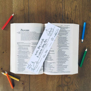 Colouring Christian Bible Verse Bookmarks Matthew 8:27