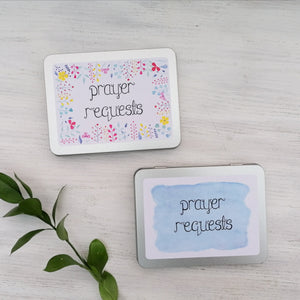 two designs of prayer request boxes