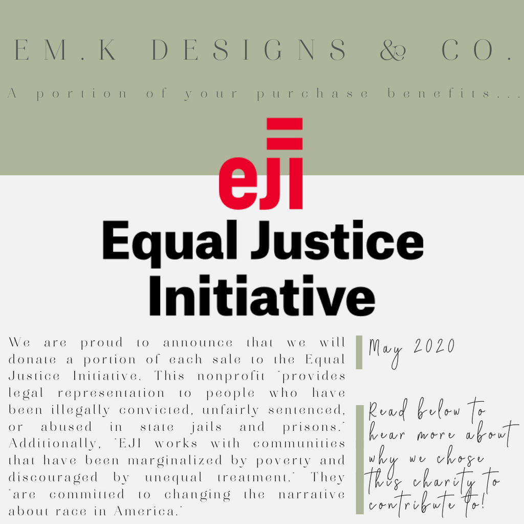 May 2020 Racial Injustice - Equal Justice Initiative