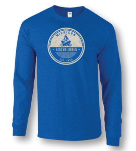 Sister Lakes Campfire Long Sleeve T-shirt (3 Colors)