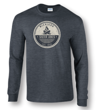 Load image into Gallery viewer, Sister Lakes Campfire Long Sleeve T-shirt (3 Colors)