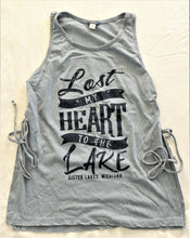 Load image into Gallery viewer, Lost My Heart to the Lake Side Knit Tank (2 Colors)