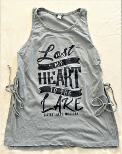 Lost My Heart to the Lake Side Knit Tank (2 Colors)