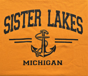 Sister Lakes Anchor T-shirt