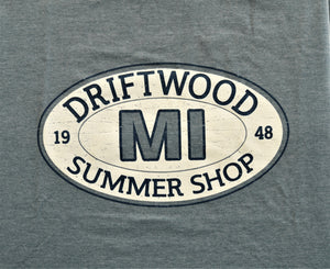 Driftwood Oval Plank T-shirt (3 Colors)