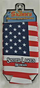 Sister Lakes Slim Can Insulator (4 Colors)