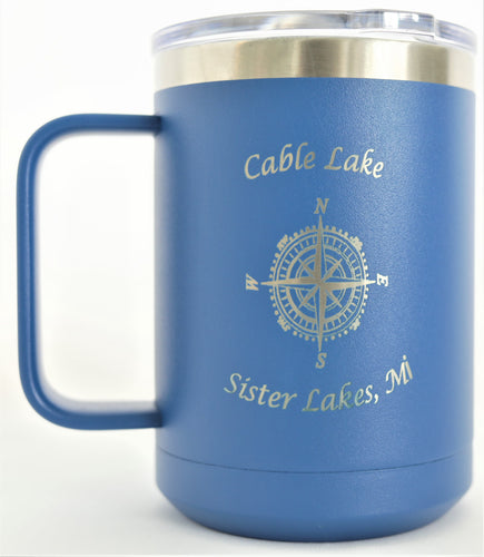 Cable Lake 16 oz. Coffee Mug