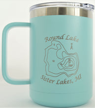 Load image into Gallery viewer, Round Lake 16 oz. Coffee Mug
