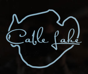 Cable Lake Sticker