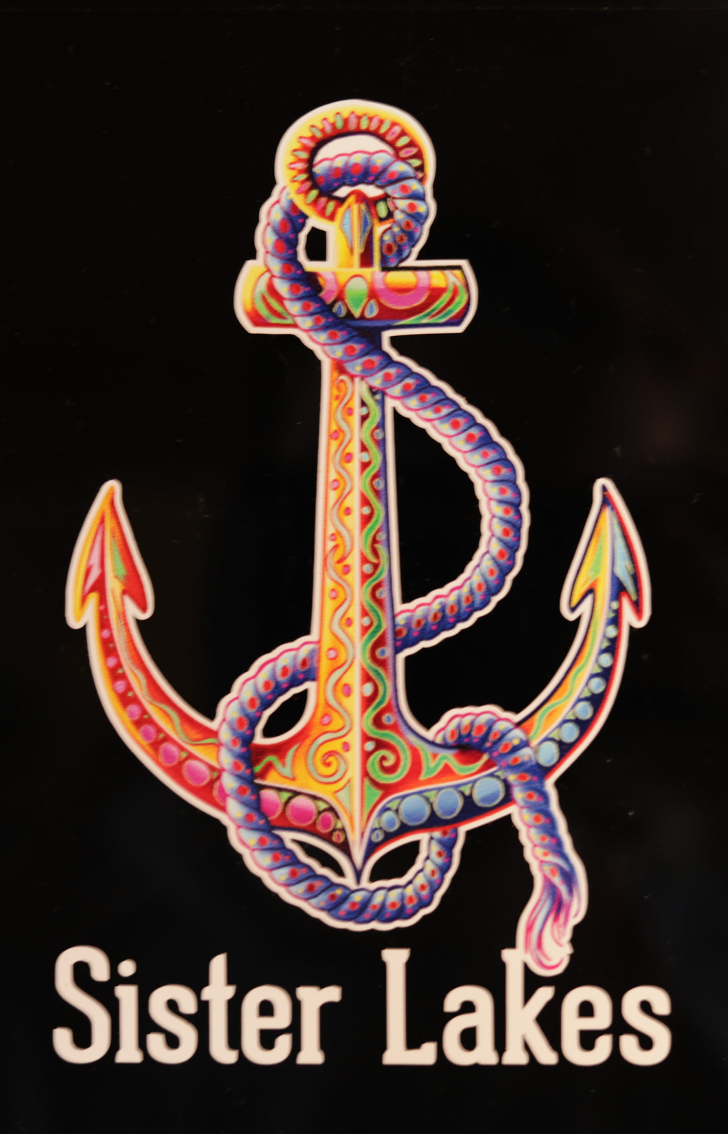 Sister Lakes Anchor Sticker