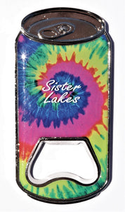 Sister Lakes Bottle Opener Magnet (2 Colors)
