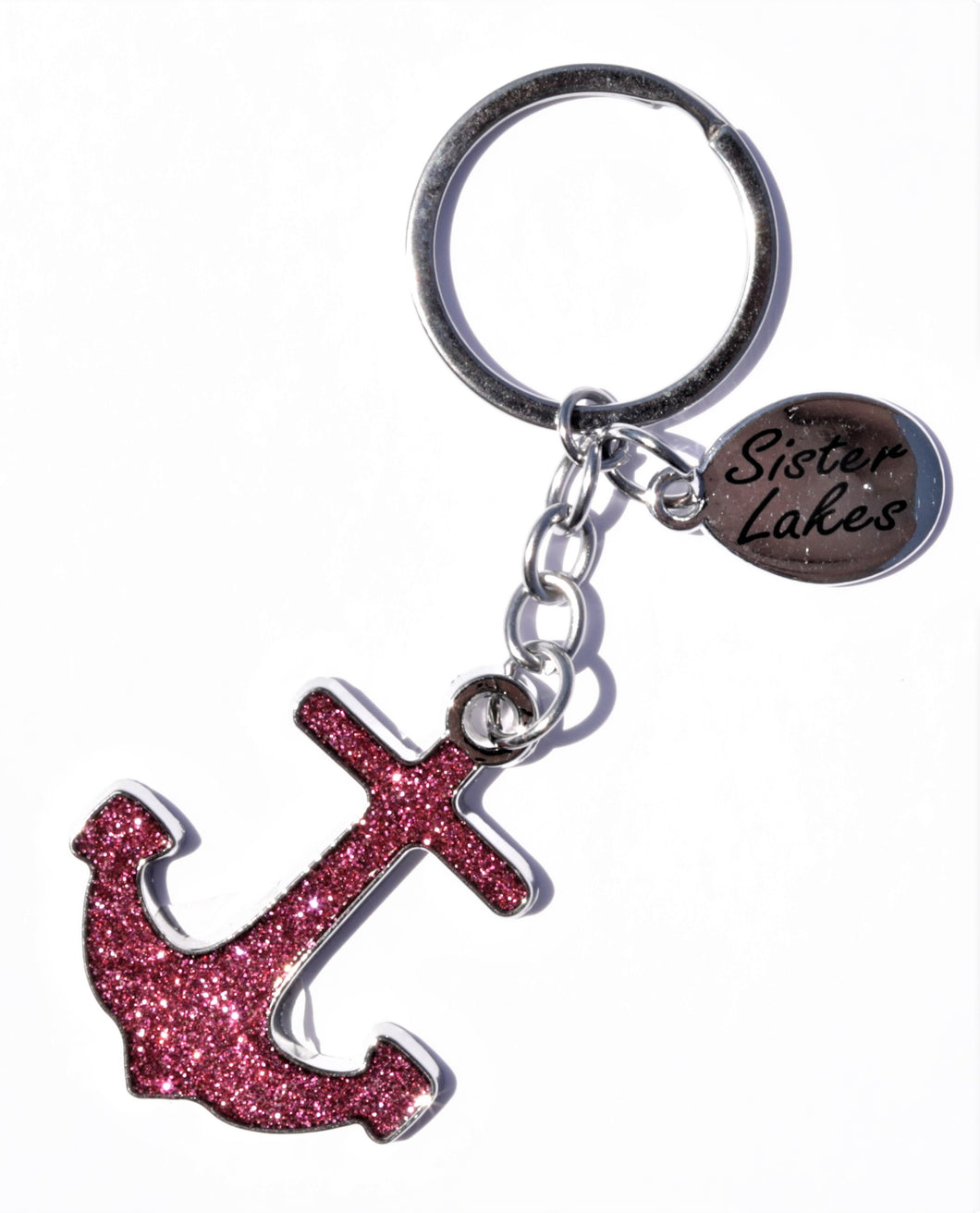 Sister Lakes Keychain