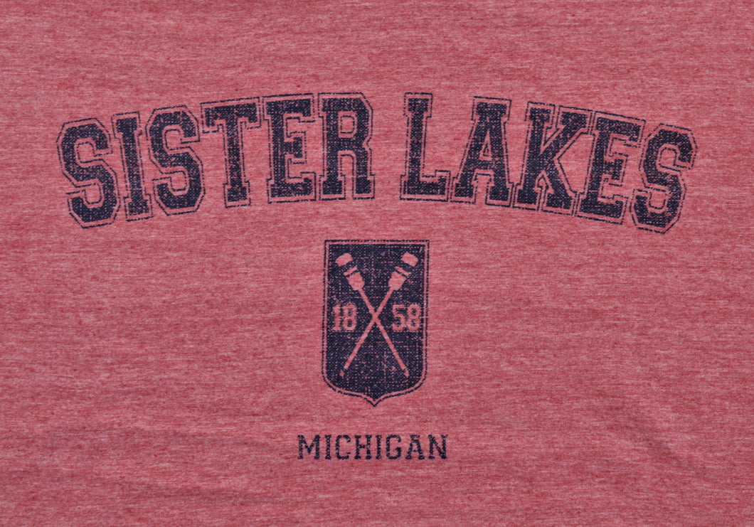 Sister Lakes 1858 Oars Crest T-shirt (3 Colors)