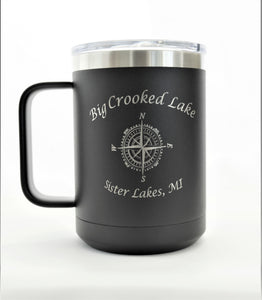 Big Crooked Lake 16 oz. Coffee Mug