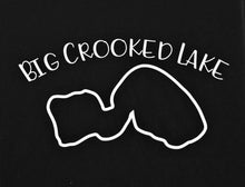 Load image into Gallery viewer, Big Crooked Lake Soft Style T-shirt