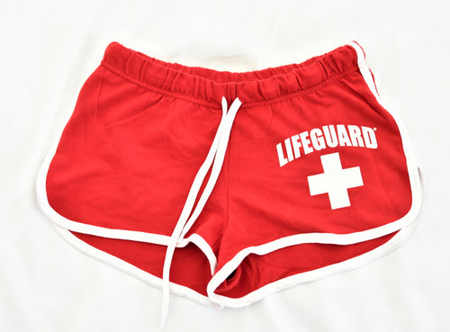 Sister Lakes Lifeguard Hi-cut Striped Short