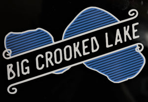 Big Crooked Lake Sticker