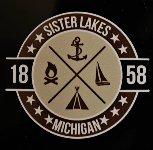 Sister Lakes Campground Sticker