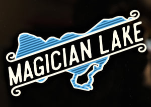 Magician Lake Sticker